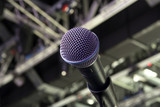 Microphone close-up on stage - 205619156