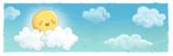 nubes y sol - 205646927
