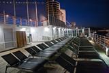 peaceful evening on ship - 205654590