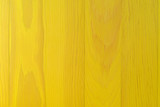 Bright yellow painted table top. - 205667583