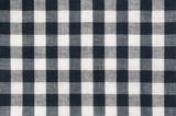 Black and white fabric.
