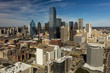 Quadro MARCH 5, 2018, DALLAS SKYLINE TEXAS, as seen from Reunion Tower Observeration Deck
