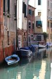 Venice, Italy - Boat Parking