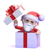 3d Santa Claus surprise!