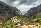PUERTO DE LA CRUZ, TENERIFE / SPAIN - FEBRUARY 23 2018: Masca village on Tenerife island