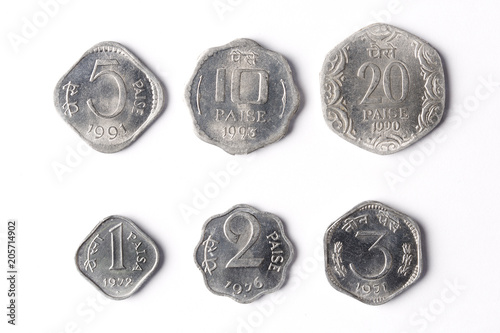 Old Indian coins - Paise