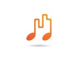 Music note Icon - 205722766