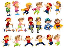 A  Urban Kids Activities Sticker