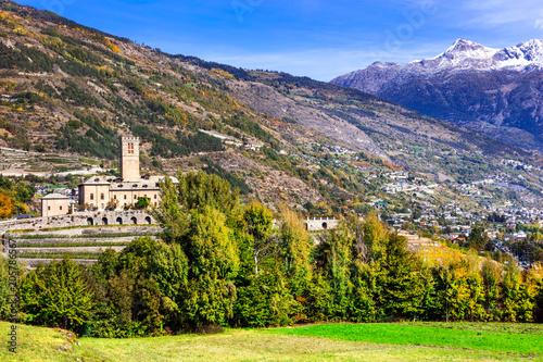 Aluminium Freesurf Castles of Valle d'Aosta. Castello Reale di Sarre, Italy