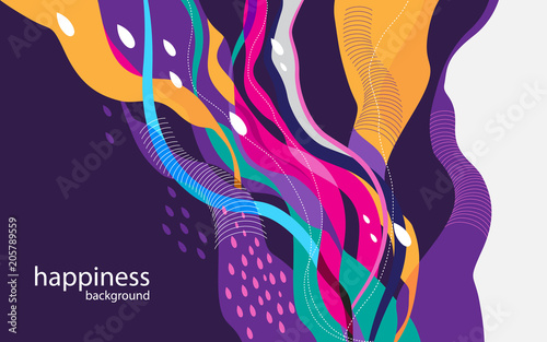 Creative background for print, banner, flyer, book cover etc.