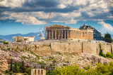 Parthenon, Acropolis of Athens, Greece at summer day - 205824128
