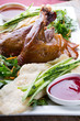 Peking duck dish