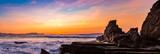 Sunset on the Basque coast - 205858321