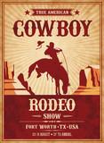 Vector Rodeo Invite template - 205862325