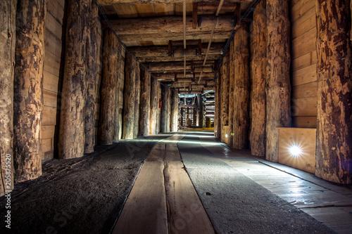 Underground Wieliczka Salt Mine (13th century), one of the world's oldest salt mines, near Krakow, Poland