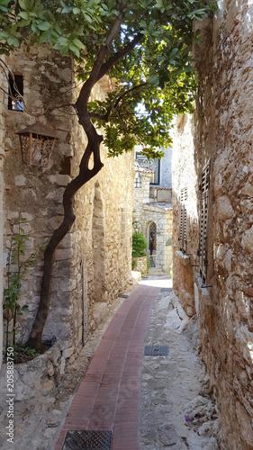 Narrow old town street