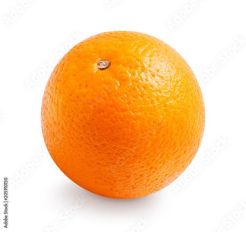 Pomarańczowa owoc odizolowywająca