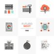 Network Data Futuro Next Icons