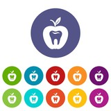 Hard tooth icon. Simple illustration of hard tooth vector icon for web - 205919558