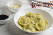 Dumplings (ravioli) with meat - 205922533