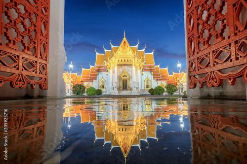Aluminium Bangkok Wat Benchamabophit , Thailand (the Marble Temple)