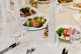 beautifully served table in a restaurant - 205957385