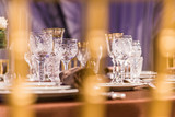beautifully served table in a restaurant - 205958304