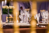 beautifully served table in a restaurant - 205958338