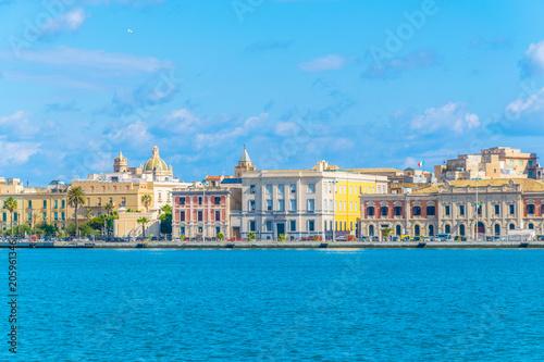 Port in Trapani, Sicily, Italy
