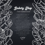 Food template page design for bakery