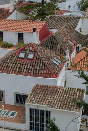 Tile Roofs of Tavira, Portugal