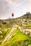 Lindesnes Lighthouse in Norway - 205978130