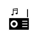 music icon vector illustration - 206027324