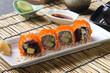 California Maki Sushi with Masago