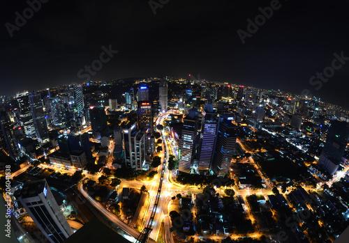 Aluminium Kuala Lumpur Kuala Lumpur de nuit - Malaisie