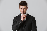 Portrait of a confident young businessman - 206043304