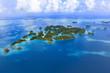 Quadro Palau Seventy Island - World heritage site -