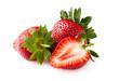 Quadro Strawberry Isolated on White Background