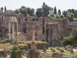 24 april 2018, Forum Romanum, Fori romani, ancient site of antique city of Rome, in Rome near Palatino hill