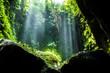 Quadro Secret beautiful tukad waterfall in canyon, Bali, Indonesia