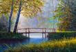Oil painting landscape - 206075130
