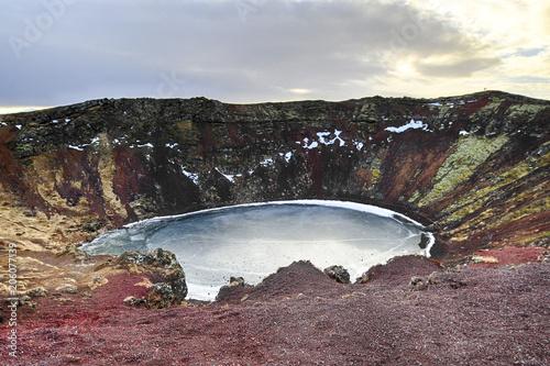 Aluminium Cappuccino Island erloschener Vulkan