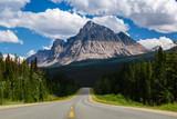 Mount Fitzwilliam in Jasper National Park, British Columbia, Canada