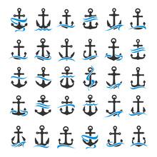 Anchor Set  Sticker