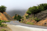 Road in the fog - 206086131