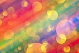 Many colorful transparent light bubbles - 206126727