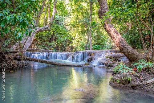 River and waterfalls in Kanchanburi © tongarch15