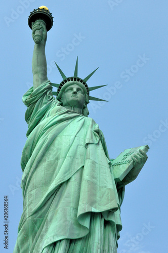 Great Statue of Liberty on her Base