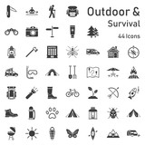 Outdoor Survival Iconset