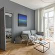 Quadro Scandi style living room